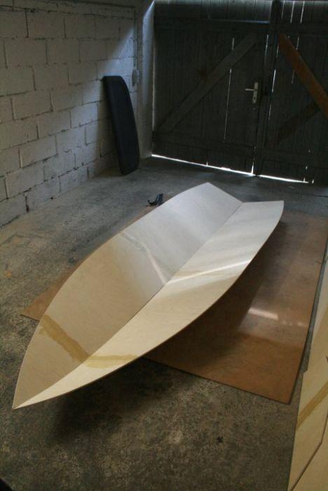 сделай сам лодка из пенопласта своими руками
