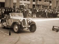 Димитър Соколов на автомобилна демонстрация във Варна 1938г. - 2